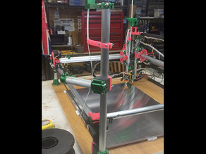 MPCNC Filament Spool feed system