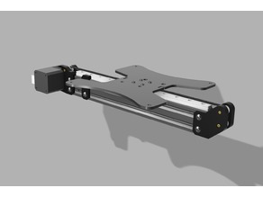 Creality Ender 3 Y Axis Linear Rail Mod V2