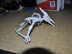 Pterodactilus 3D puzzle, dino