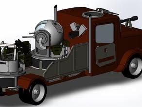 modular gun truck