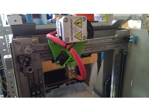 PrintBox3D One mk8 extruder mount