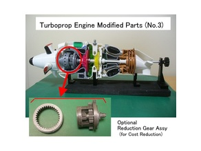 Turboprop Engine Modified Parts (No.3)