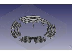 Concept for modern round church