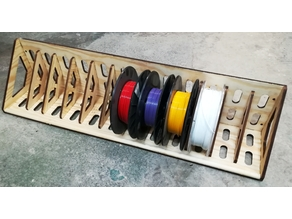 Filament spool shelf 1