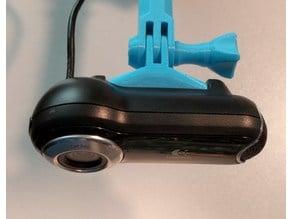 GoPro style mount for Logitech Pro 9000 webcam