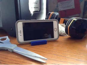 3D Printing Nerd Phone Holder