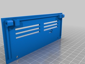Side Panel for ramps case with a reset button