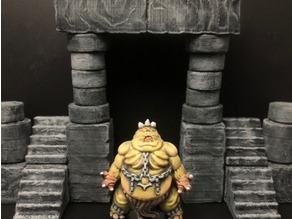 ScatterBlocks: Cyclopean Stone (28mm/Heroic scale)