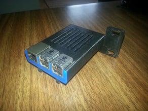 Rack mount Raspberry Pi Sleeve (2/B+)