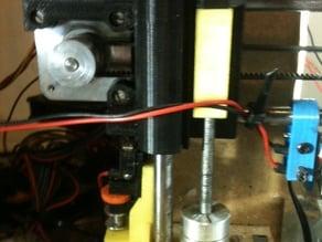 z-axis endstop adjustable for Graber i3