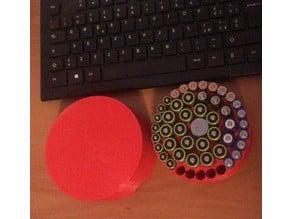 Contenitore per batterie AA, AAA e CR2032