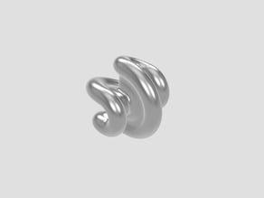 Sphericon - hexagon based sphere- rolling functional sculpture