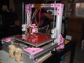 300mm x 300mm aluminium 3d printer