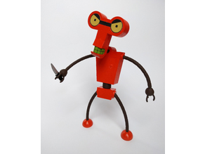 Futurama Roberto - Buildable Model