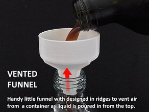 Vented Funnel