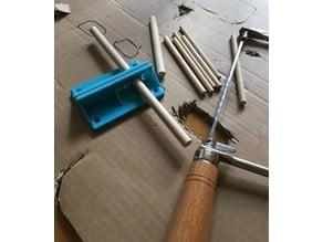 dowel sawing holder