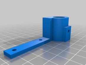 Wanhao plotter pen/levelling sensor holder