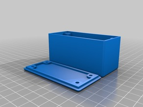 Customizable Project Box With Lid Screws