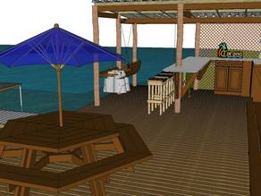 Lake Side Deck Design