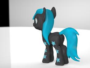 Black Star Pony