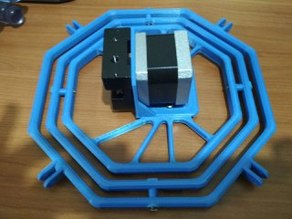 Spider: Bowden anti-bending PFTE tube cardanic system