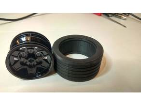 Lego custom tire (disk size 43x26mm)