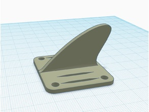 Universal Shark Fin for FPV Racing Drone