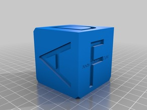 SLA Cube Challenge and test cube