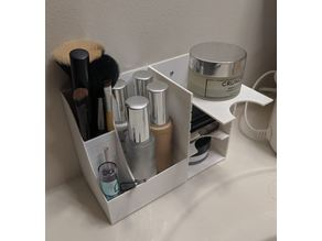Makeup Holder and Shelf (2 part)