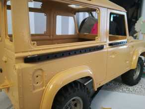 #vbc RC4WD / China Land Rover Defender 90 Sideguards front/rear