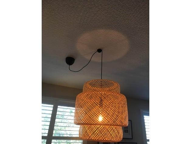 Ikea Sinnerlig Hanglamp : Ikea sinnerlig pendent lamp wire holder for ceiling position