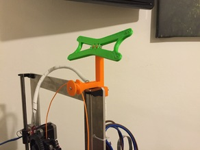 LCD and Filament guide for Prusa i3