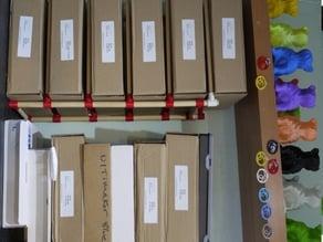 Filament Storage Shelves