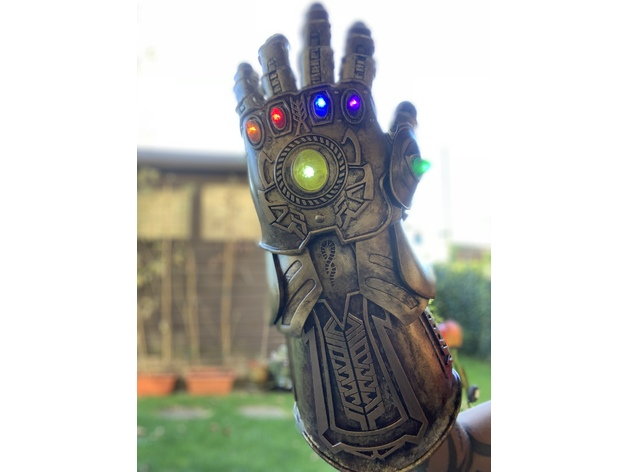 Who Makes Infinity >> Wearable Infinity Gauntlet by MonsterMovieProps - Thingiverse