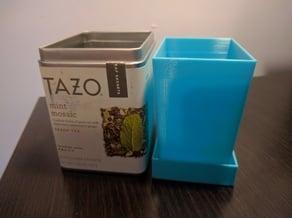 Tea Tin Planter