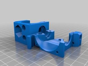 I3 MK3 extruder for flexible materials