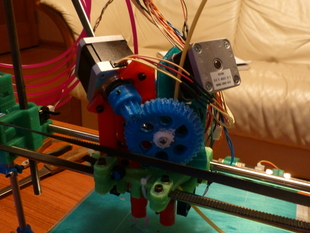 In Action: Jim's Flying Motor Mount Dual Extruder