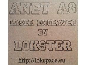 Anet A8 3D Printer Laser Engraver Mod