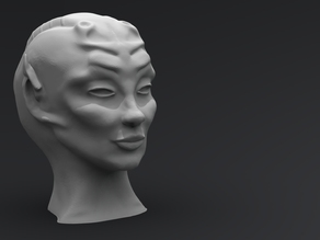 Alien Queen Head