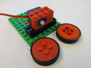 Parametric Lego Robot Treads