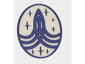 UPDATED 'The Orville' Command Badge