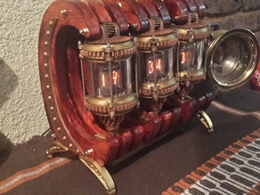 Nixie Tube Lantern Clock