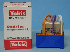 DIN support for built-in YOKIS module / Support DIN pour module YOKIS encastrable