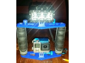 GoPro Tray for Diving With Light attachments