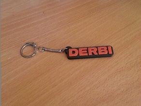 Derbi Keychain