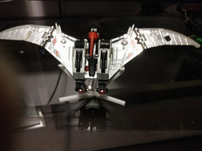 Display stand for Autobot Swoop