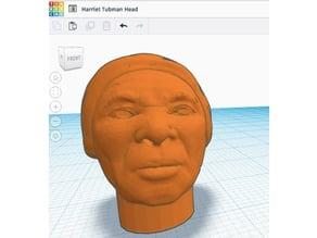 Harriet Tubman Minifig Head