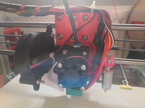 E3D V6 Bowden Carriage