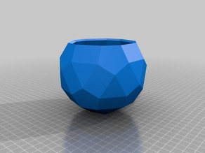 Geodesic - Polyhedron Planters or Containers