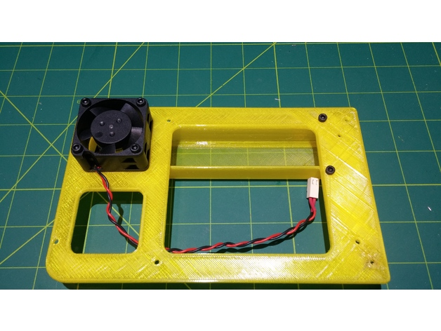 Wanhao D6 - Duet Board and Fan Mounting by StoreyWilson